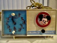 Mickey Mouse Clock Radio - Vintage - General Electric Youth Electronics