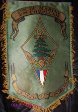 FAN165 - PETIT FANION 2° DE MARINE - 4° Cie MANDAT 2001 - LIBAN