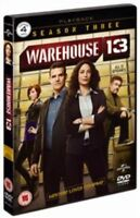 Warehouse 13 - Series 3 - Complete (DVD, 2012, 3-Disc Set) NEW AND SEALED REG 2