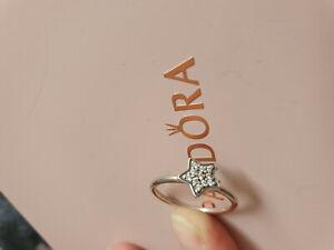 Pandora Ring Stern Silber 58