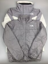 The North Face TNF Headwall Triclimate Jacket White Blue with LINER Mens MEDIUM