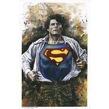Superman / Christopher Reeve - Art / Print / Poster