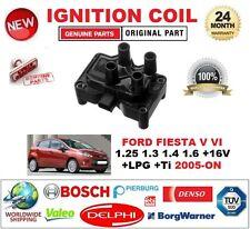 FOR FORD FIESTA V VI 1.25 1.3 1.4 1.6 +16V +LPG +Ti 2005-ON IGNITION COIL 3-PIN
