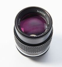 Nikon 105mm f2.5 ais manual focus lens