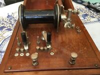 Antique Medical  Electric Shocking Machine