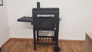 Grill Broilmaster BBQSK011 Smoker BBQ GRILLWAGEN Holzkohle Grill Standgrill