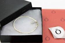 Genuine Pandora Sterling Silver Lobster Clasp Bracelet 590700HV-21 in Box Shown