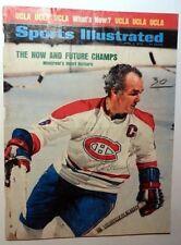 HENRI RICHARD Autographed 8 x 10 Magazine PAGE Hockey Montreal CANADIENS PC962