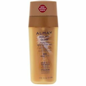 Almay Healthy Glow Makeup & Gradual Self Tan, Medium, 1 fl. oz. SPF 20