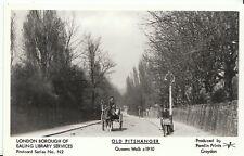 London Postcard - Old Pitshanger - Queens Walk c1910 -  U825