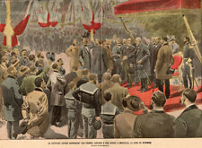 13 MARSEILLE PRESIDENT KRUGER DISCOURS SPEECH RSA IMAGE 1900 PRINT