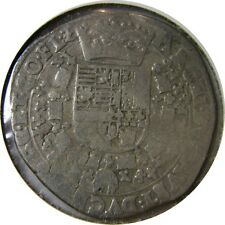 elf Spanish Netherlands Flanders Belgium 1/4 Patagon (1598-21) Silver