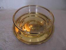 coupe cristal et son plat argent vermeil minerve Baccarat et Puiforcat