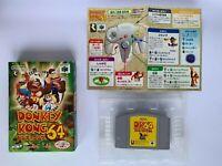 Donkey Kong 64 NTSC-J JAPAN OVP CIB Tested !!!