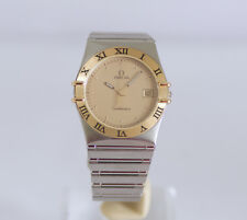 Omega Constellation Quartz 18k Gold & SS - Unisex Size Mint condition