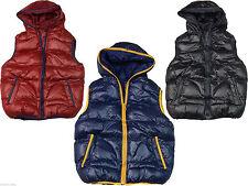 Jacken, Mäntel & Schneeanzüge für Jungen-Westen mit Kapuze aus Polyester