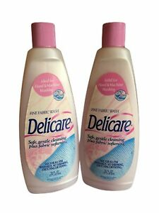 2x Delicare Fine Fabric Wash Arm Hammer Cold Water Laundry Detergent 16oz VHTF