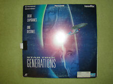 LASERDISC - LASER DISC - LASER DISQUE - LD - FILM - STAR TREK GENERATIONS - 1994