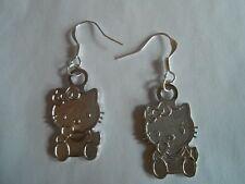 HELLO KITTY-earrings-silver-?AVON?-CUTE