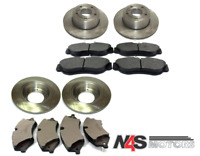 LAND ROVER DISCOVERY 2 FRONT AND REAR BRAKE DISCS, PADS KIT SET.PART-N4S 056