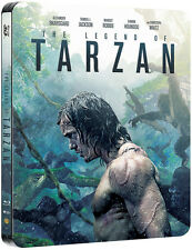 Legend of Tarzan 3D + Blu-Ray HMV Limited Edition Steelbook Region Free