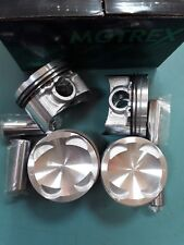 NEW PISTON&PIN&RINGS FULL SET X4 +0.50 MAZDA 323,323F BA 1.5 16V. Z5-DE 94-98