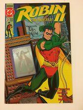 Robin II: Joker's Wild #3 Signed by Tom Lyle DC Comics (1991) VF- Hologram