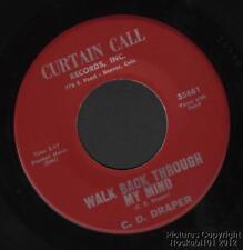 (Hear) 1968 C D Draper Colorado Country 45 (Walk Back Through My Mind)