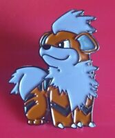 Pokemon Pin Growlithe Pin Enamel Retro Metal Brooch Badge Lapel