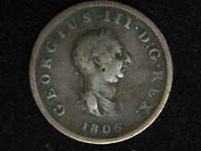 1806 Great Britain Half Penny