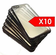 10 X Silicone Cases For iPhone 7 & iPhone 8 (Bulk Buy Pack of 10)