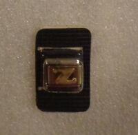 ITALIAN MODULAR CHARM BRACELET LINK 9mm STAINLESS STEEL - Alphabet Letter Z