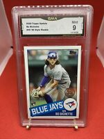 2020 Topps Update Bo Bichette #45 Rookie Card 85 Style GMA 9 Mint RC Blue Jays
