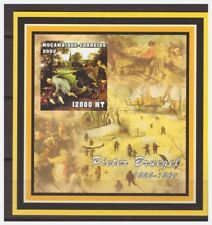 0003 Mozambique 2002 Painting Pieter Breugel S/S MNH imperf