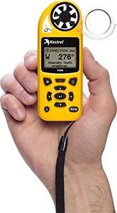 Nielsen-Kellerman Kestrel 5500 Weather Meter - Wind speed, temperature, humidity