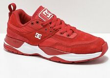 DC E. Tribeka Red & White Shoes Size 5
