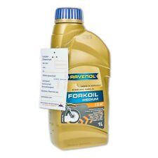 1 Liter RAVENOL FORKOIL Medium SAE 10W Motorrad-Gabelöl/Stoßdämpferöl
