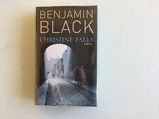 Benjamin Black (John Banville), CHRISTINE FALLS, Signed, True First Edition
