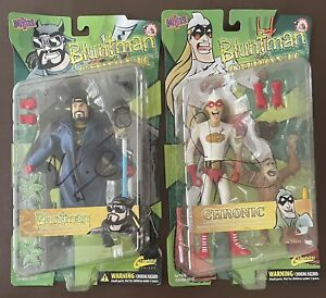 Bluntman And Chronic Action Figures Signed