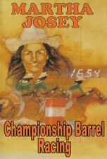 Championship Barrel Racing by Martha Josey DVD - NEW