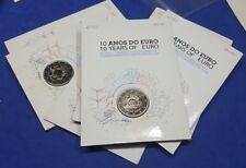 """PORTUGAL -  2 EUROS 2012 Gedenkmünzen   """" 10 Jahre Bargeld """"  BU / Coin Card"""