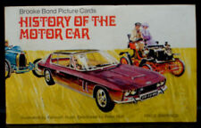 In Official Album Motor Cars/Bikes Original Collectable Tea Cards