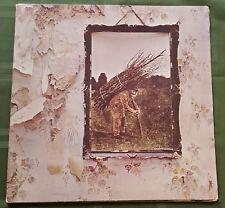 Led Zeppelin IV ZOSO RARE 1971 Atlantic SD 7208  Vinyl Record LP