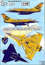 Syhart Decals 1/48 DASSAULT RAFALE C Tigermeet 2013 EC 1/7 Provence