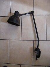 Lampe d'atelier 2 bras années 20 30 Gras