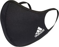 adidas Unisex Reusable Face Mask Covering - Black