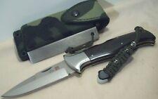 2000~AL MAR~S.E.R.E. 3003~UNUSED~TACTICAL LOCKBACK FOLDING KNIFE w/CAMO SHEATH
