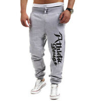 Mens Casual Sport Dance Pants Slim Trousers Running Jogger Gym Sweatpants Slacks