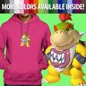 Nintendo Super Mario Bros Bowser Jr Koopa Son Pullover Sweatshirt Hoodie Sweater
