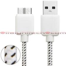 CAVO 3M 3 METRI USB MICRO USB 3.0 IN NYLON PER SAMSUNG S5 NOTE 3 E LUMIA 2520